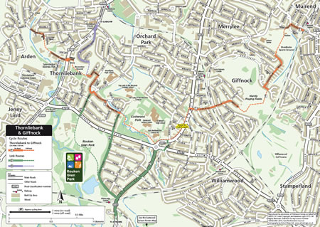Cycle Map Sample Thorniebank