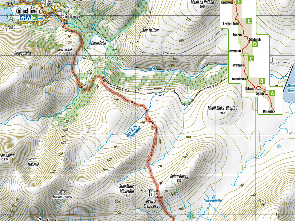 samples of walking maps 5